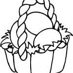 Easter Coloring Pages |  Easter Basket Coloring Pages For Kids   Free Printable Coloring Pages Easter Basket