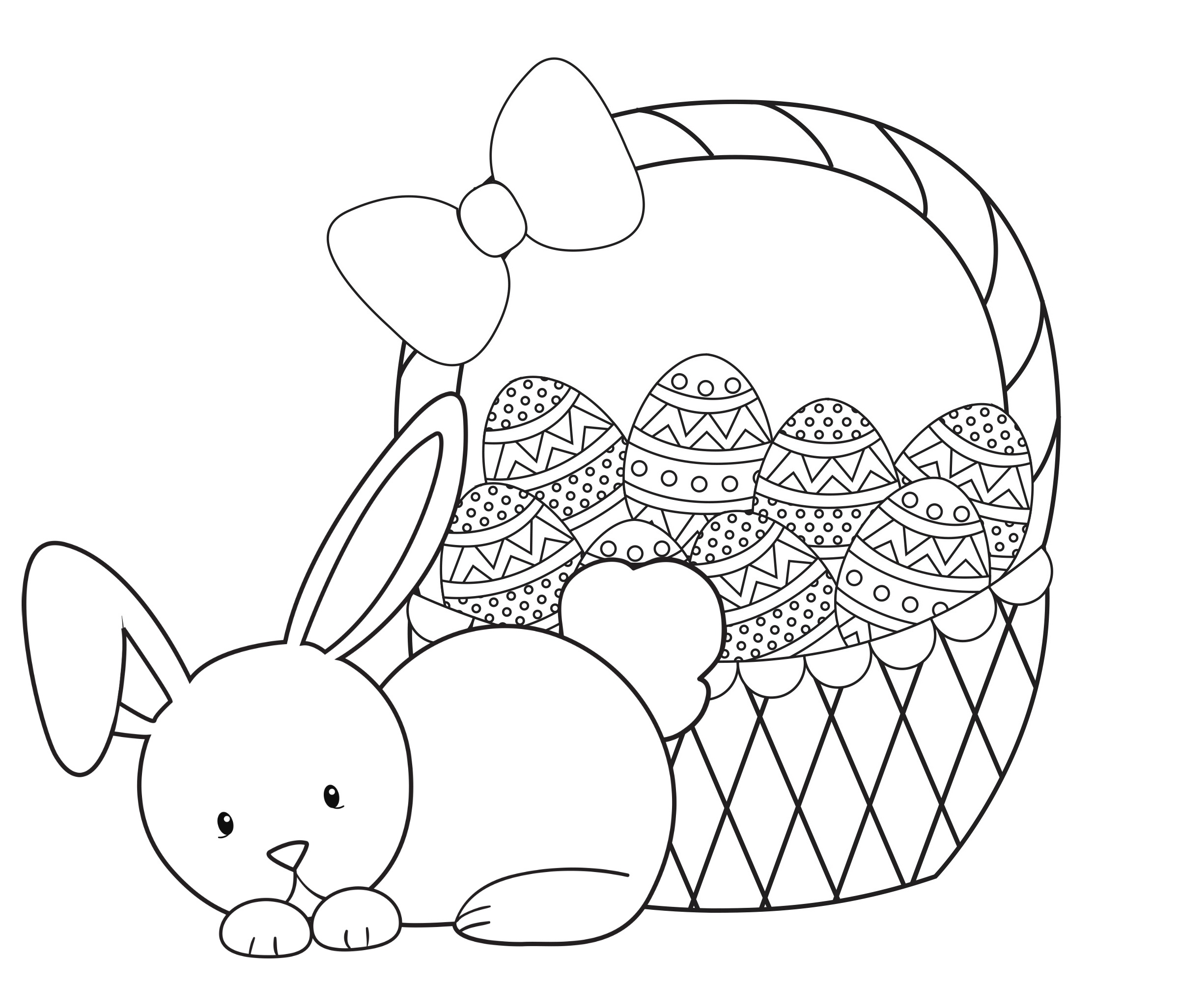 Easter Coloring Pages For Kids - Crazy Little Projects - Easter Coloring Pages Free Printable
