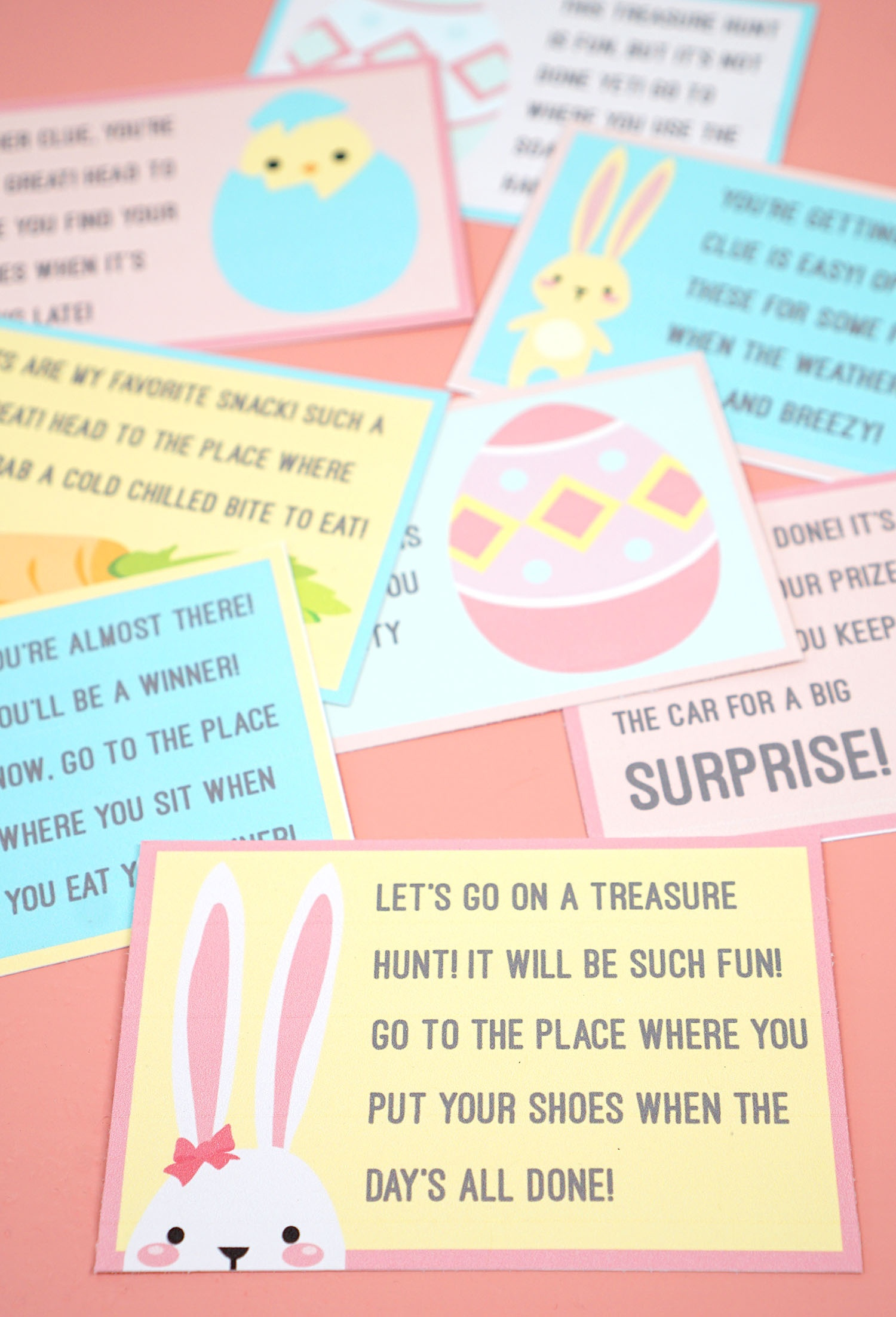 Easter Scavenger Hunt - Free Printable! - Happiness Is Homemade - Free Printable Scavenger Hunt
