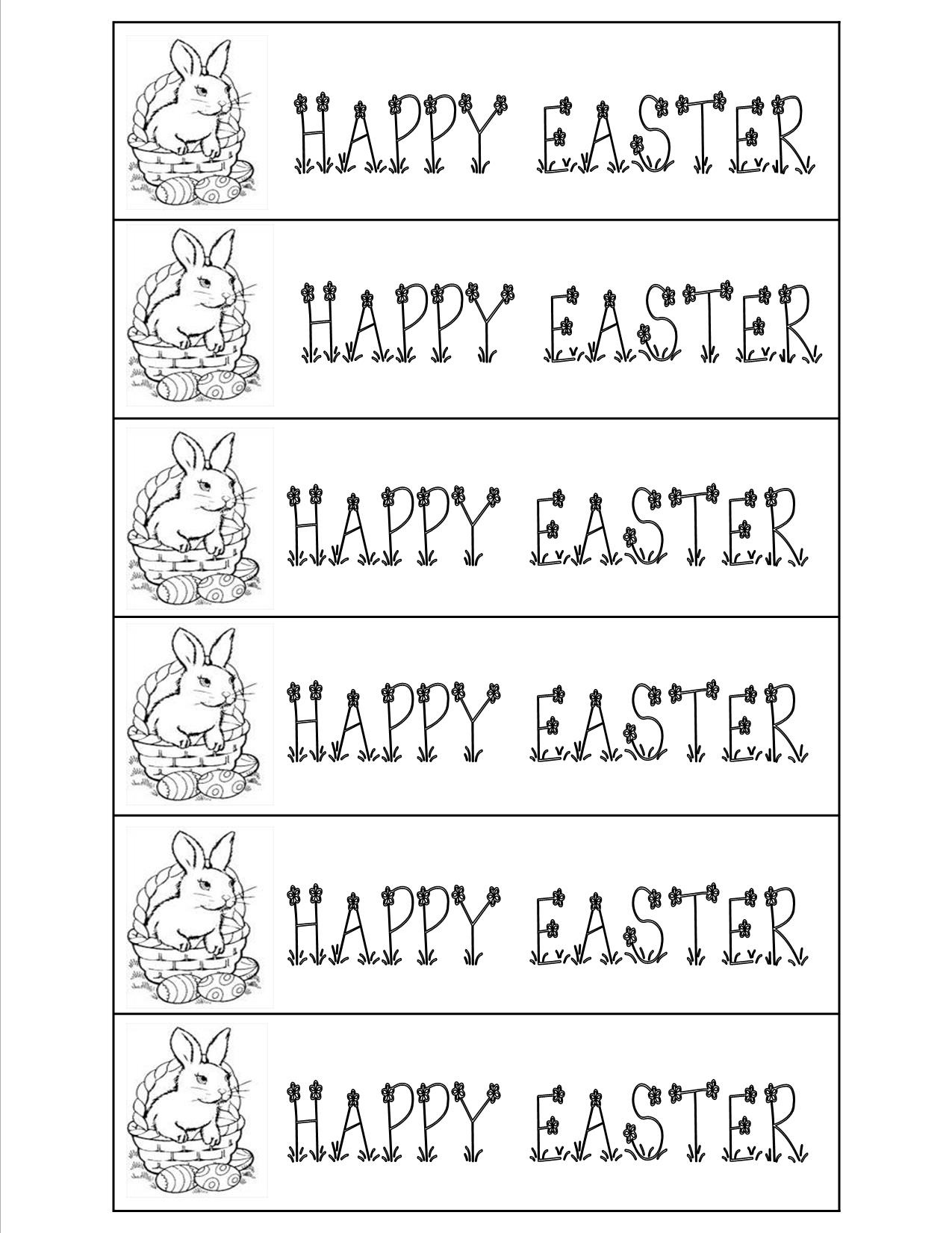 Easter Worksheets And Printouts - Free Printable Easter Worksheets