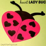 Easy Diy Valentine's Day Ladybug With Free Printable Templates   Free Printable Valentines Day Cards For My Daughter