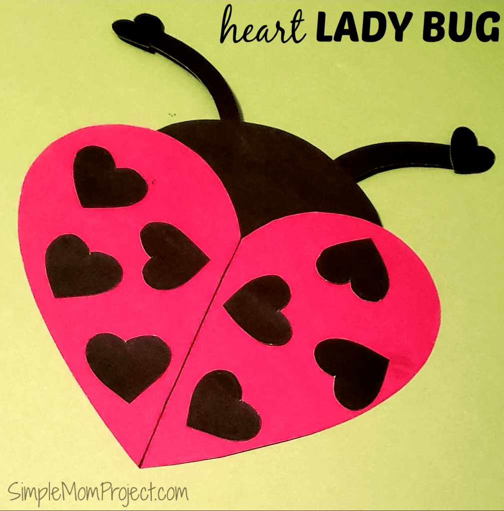 Easy Diy Valentine's Day Ladybug With Free Printable Templates - Free Printable Valentines Day Cards For My Daughter