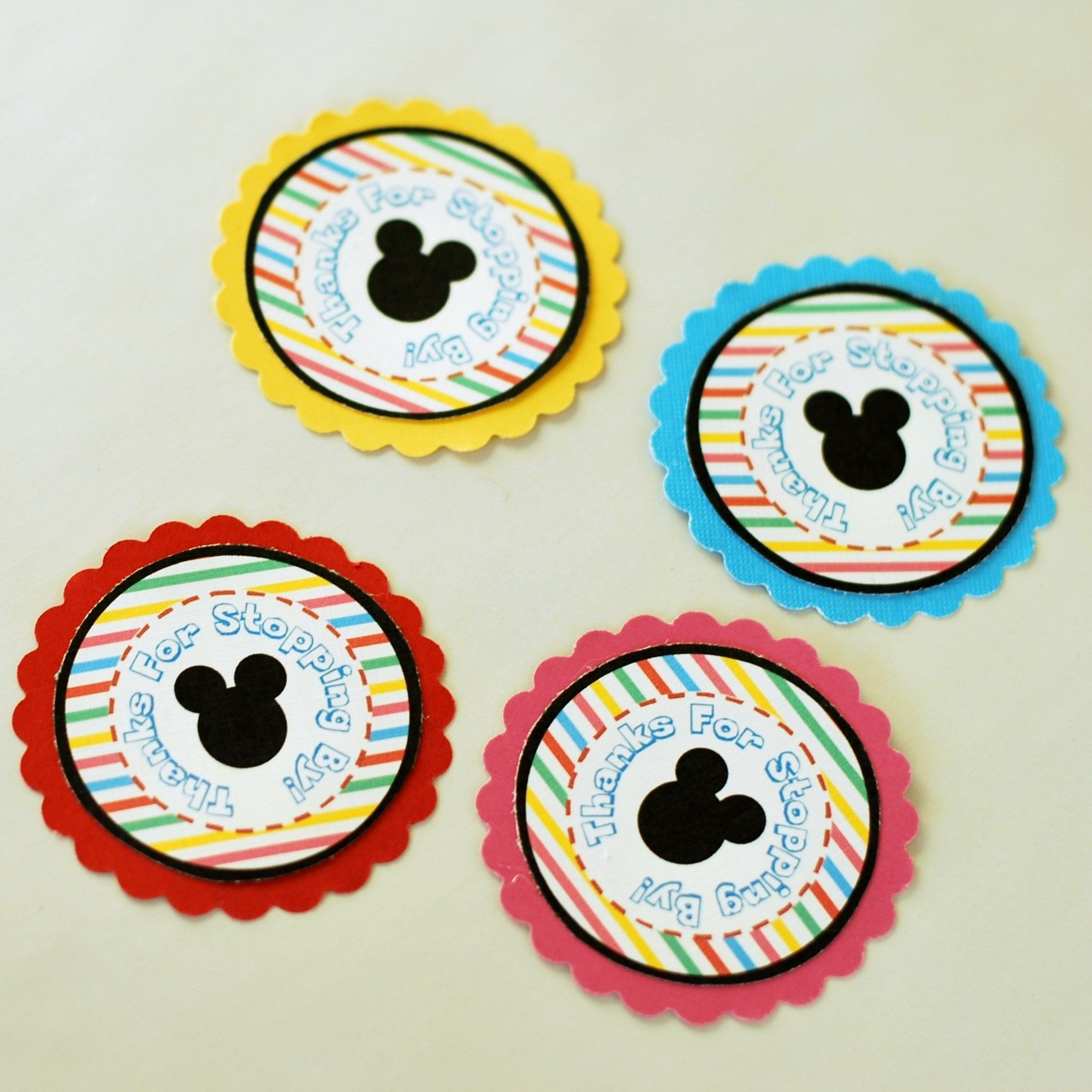 Easy Favor Ideas + Mickey & Minnie Favor Printables | Disney Make - Free Printable Mickey Mouse Favor Tags