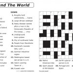 Easy Printable Crossword Puzzles | Elder Care & Dementia Care   Printable Newspaper Crossword Puzzles For Free