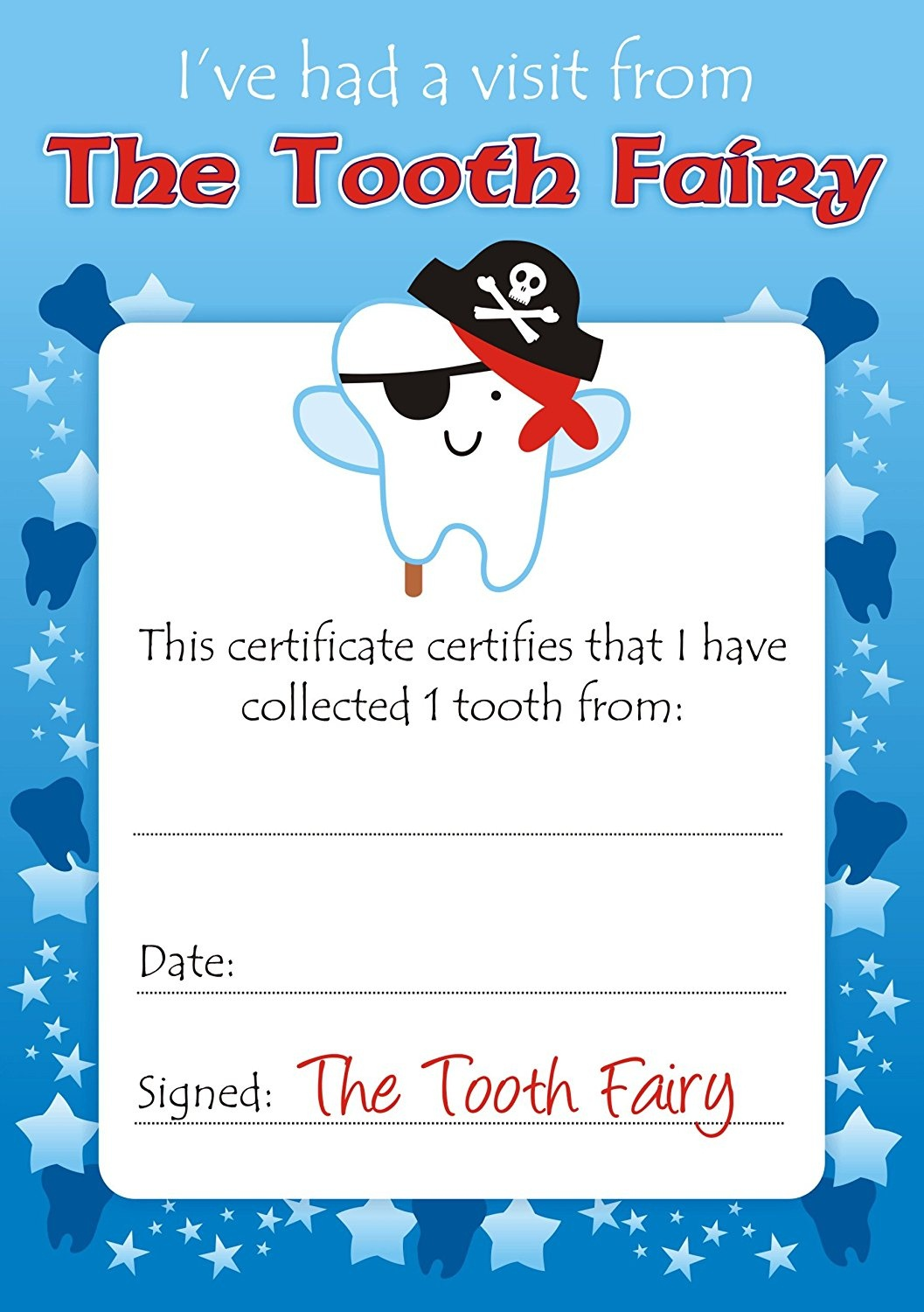 Easy Tooth Fairy Ideas & Tips For Parents / Free Printables - Free Printable Notes From The Tooth Fairy