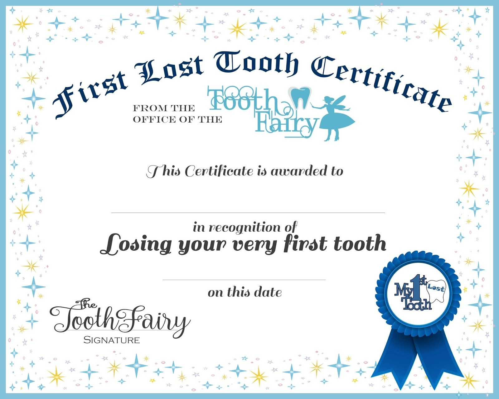 Easy Tooth Fairy Ideas & Tips For Parents / Free Printables - Free Tooth Fairy Printables