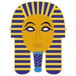 Egyptian Death Mask Template | Free Printable Papercraft Templates   Free Printable Egyptian Masks