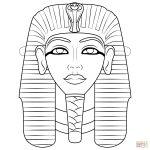 Egyptian Mask Coloring Page | Free Printable Coloring Pages   Free Printable Egyptian Masks