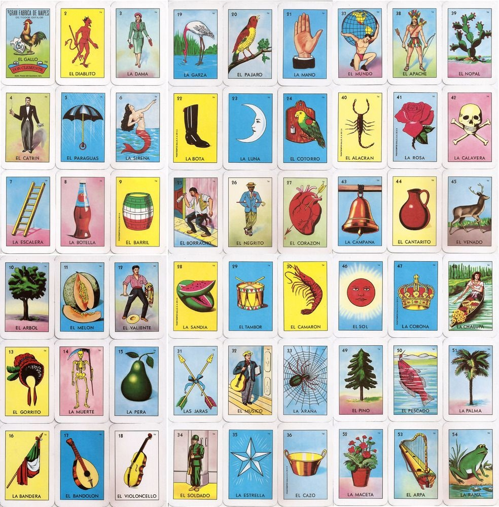 El Corazon Loteria Card   Home Makeover   Loteria Cards, Cards - Loteria Printable Cards Free