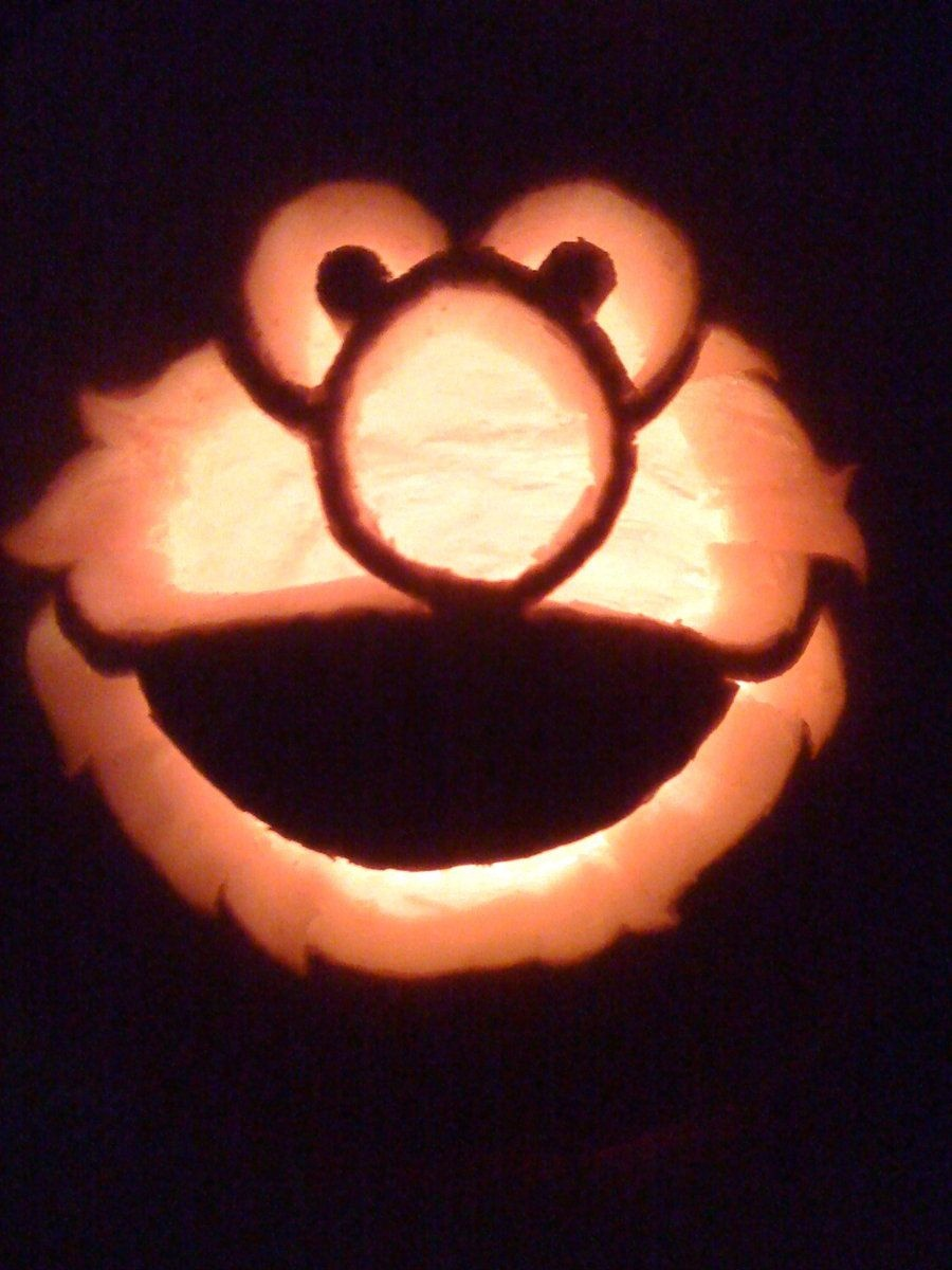 Elmo Pumpkin Carvingmakingmymark.deviantart | Carter - Free Elmo Pumpkin Pattern Printable