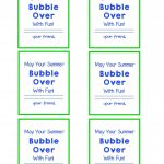 End Of School Year Gift Bubble Gift Tags And Free Printable | Give   Free Printable Gift Tags For Bubbles