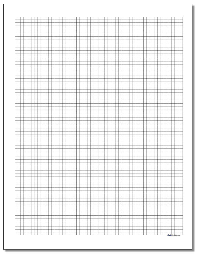 Engineering Graph Paper - Free Printable Graph Paper For Elementary Students