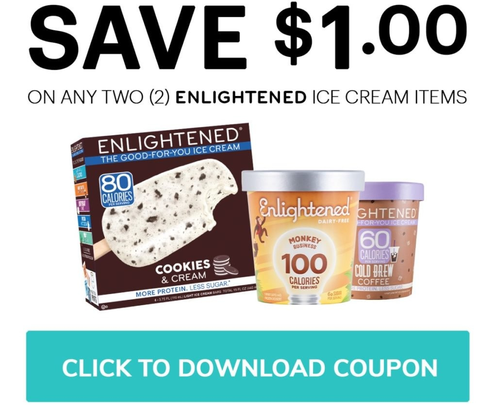 Enlightened Ice Cream Coupons And Deal - Free Printable Giant Eagle Coupons