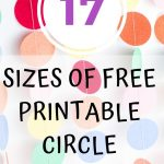 Epic Collection Of Free Printable Circle Templates   Circles From 1   Free Printable 6 Inch Circle Template