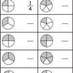 Equivalent Fractions Worksheet / Free Printable Worksheets   Free Printable First Grade Fraction Worksheets