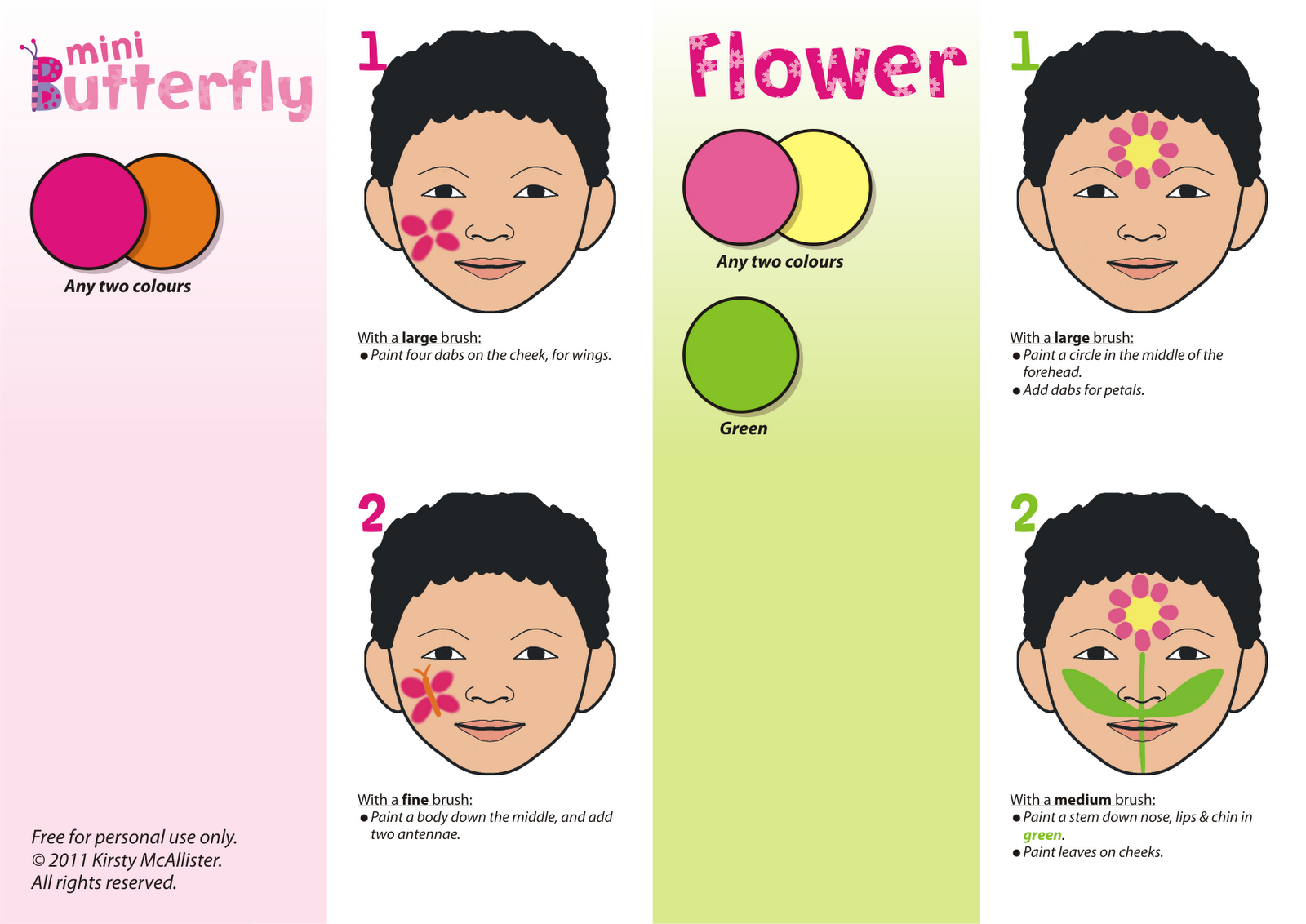 Face Painting Templates Printable. Miscellany Of Randomness Face - Free Printable Stencils For Face Painting