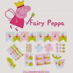 Fairy Peppa Pig Free Printable Kit. | Kris Needs This | Peppa Pig   Peppa Pig Free Printables