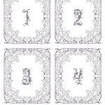 Fairytale Table Numbers: Free Wedding Printable   Bridalpulse   Free Printable Table Numbers 1 20