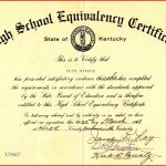 Fake Ged Certificate For Free | Katieroseintimates   Free Printable Ged Certificate