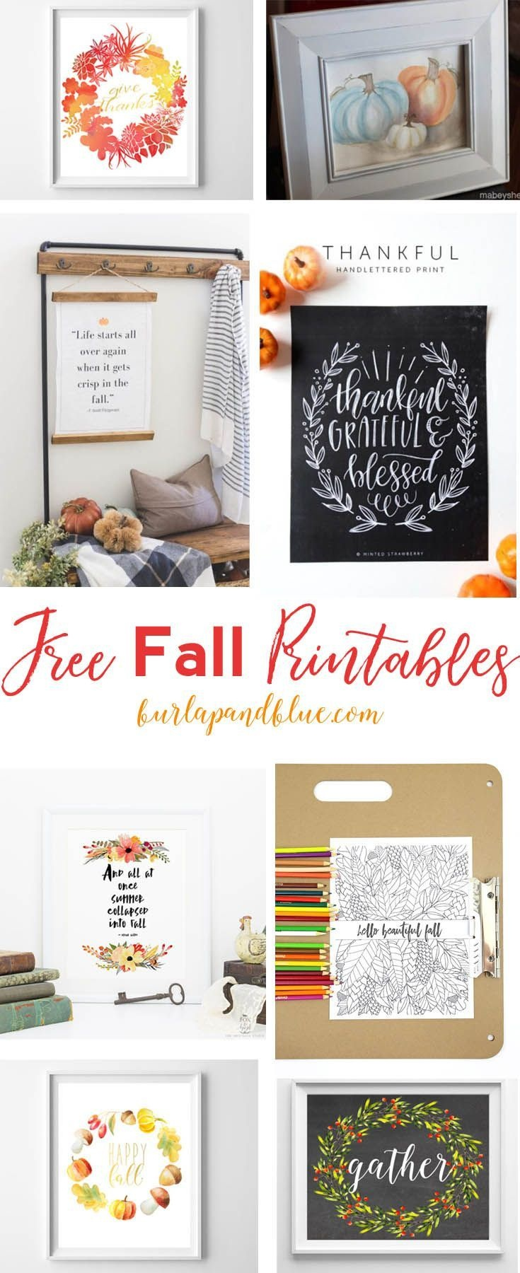 Fall Art And Free Printables   Diy For The Home   Fall Home Decor - Free Printables For Home Decor
