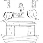 Fall Free Printable Bible Lessons Adem And Eve | The Flood Worksheet   Free Noah's Ark Printables