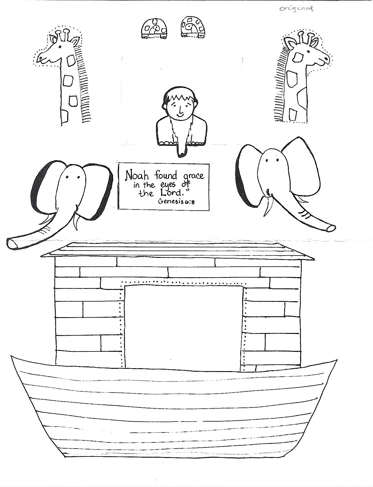 Fall Free Printable Bible Lessons Adem And Eve | The Flood Worksheet - Free Noah's Ark Printables