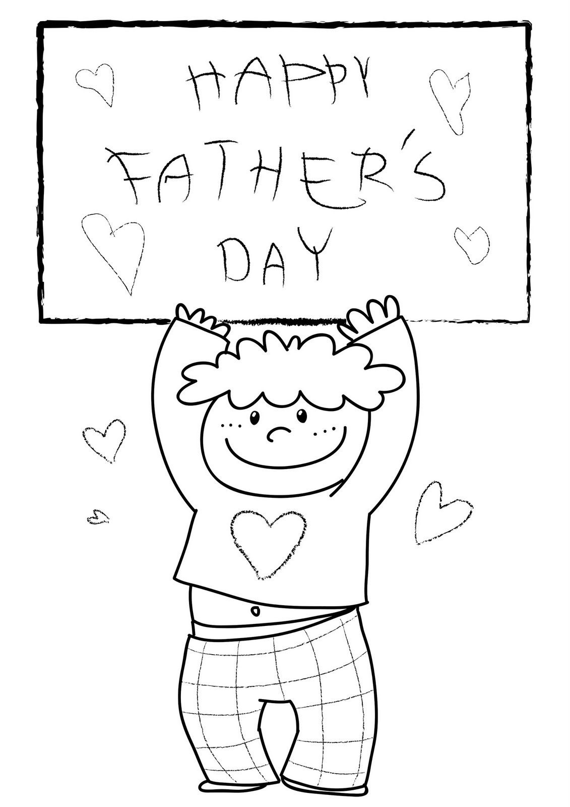 Fathers Day Coloring Page - Check Out Free Printable Happy Fathers - Free Printable Fathers Day Coloring Pages For Grandpa