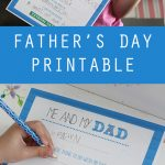 Father's Day Printable   Free Questionaire For Me And My Dad   Free Father's Day Printables