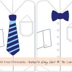 Father's Day Tie Printables | In Honor Of Design: Diy: Free   Free Printable Tie
