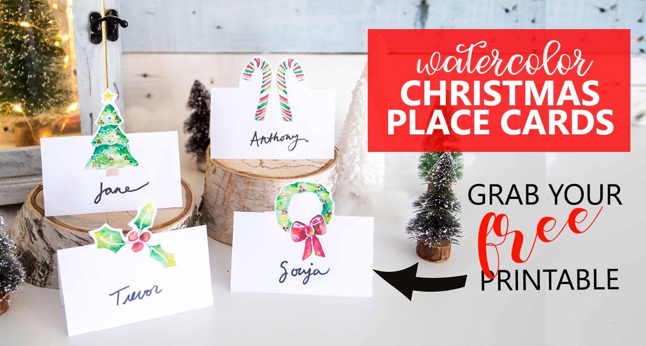 Festive Christmas Rock Painting Ideas – Sustain My Craft Habit - Free Printable Flat Christmas Cards