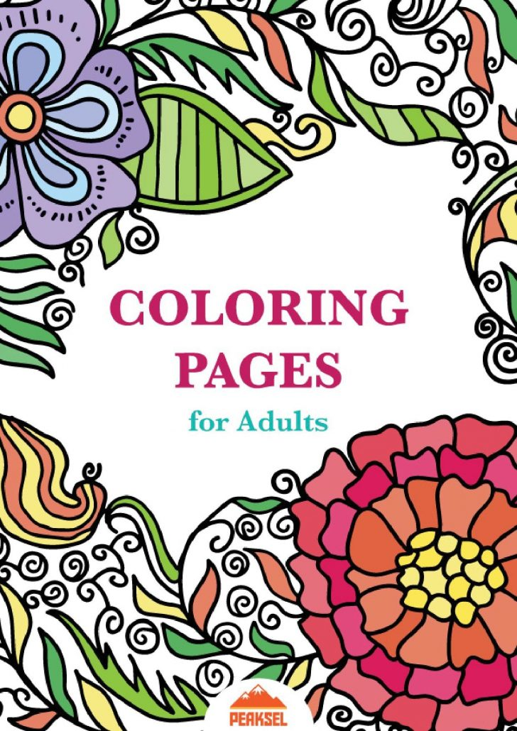 Free Printable Coloring Book Pages For Adults