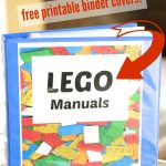 Finally A Great Way To Organize Lego Manuals! Love This Organization   Free Printable Lego Instructions