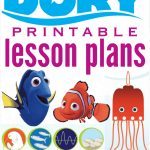 Finding Dory Lesson Plans For Teachers Or Parents   Free Nemo Printables