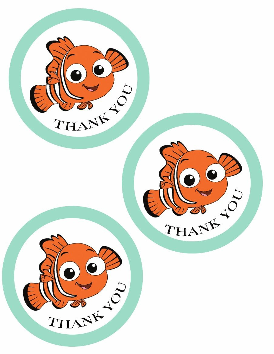 Finding Nemo Party {Free Printables} | Diy Party Nemo Dory - Free Nemo Printables