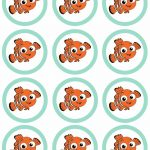 Finding Nemo Party {Free Printables} | Diy Party Nemo Dory | Nemo Cake   Free Nemo Printables