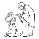 First Communion Coloring Pages Free | Free Coloring Pages For Kids   Free Catholic Coloring Pages Printables