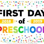 First Day Of School Signs   Free Printables   Happiness Is Homemade   Free First Day Of School Printables 2018