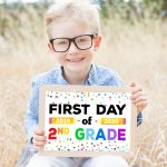 First Day Of School Signs   Free Printables   Happiness Is Homemade   Free Printable First Day Of School Certificate