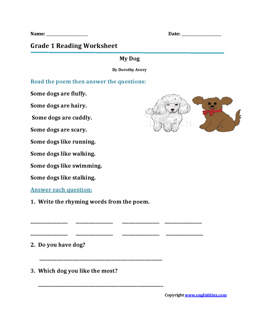 First Grade Common Core Reading Worksheets Free With Plus Spanish - Free Printable Spanish Reading Comprehension Worksheets
