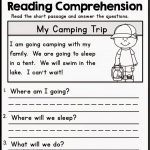 First Grade Common Core Reading Worksheets Free With Plus Spanish   Free Reading Printables For 1St Grade