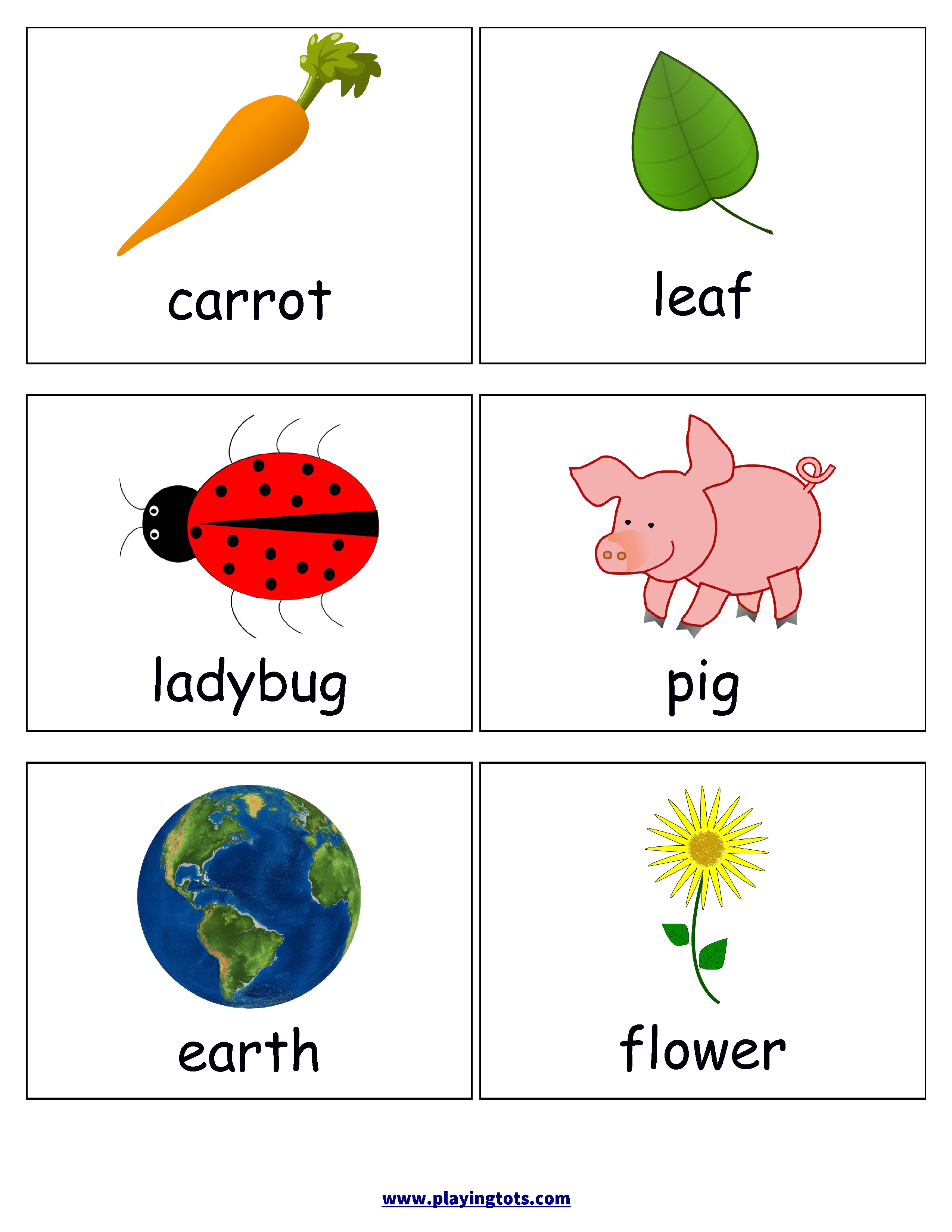 First Words Flash Cards For Your Toddler Keywords: Picture,cards - Free Printable Rhyming Words Flash Cards