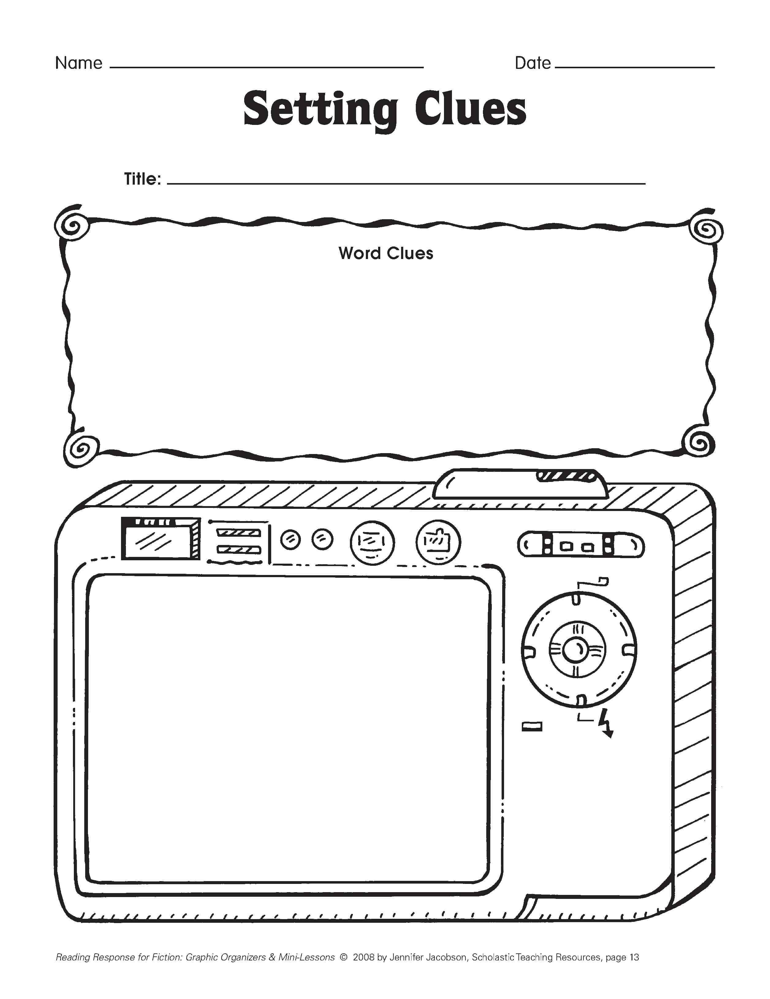 Five Minute Reading Responses | Scholastic Free Printable On - Scholastic Free Printables