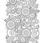 Flower Coloring Pages For Adults   Best Coloring Pages For Kids   Free Printable Flower Coloring Pages For Adults