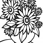 Flower Coloring Pages | Free Download Best Flower Coloring Pages On   Free Printable Flower Coloring Pages For Adults