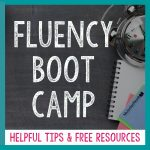 Fluency Boot Camp   Msjordanreads   Free Printable Fluency Passages 3Rd Grade