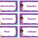 Food Labels | Doc Mcstuffins | Doc Mcstuffins, Doc Mcstuffins   Free Printable Doc Mcstuffins Food Labels