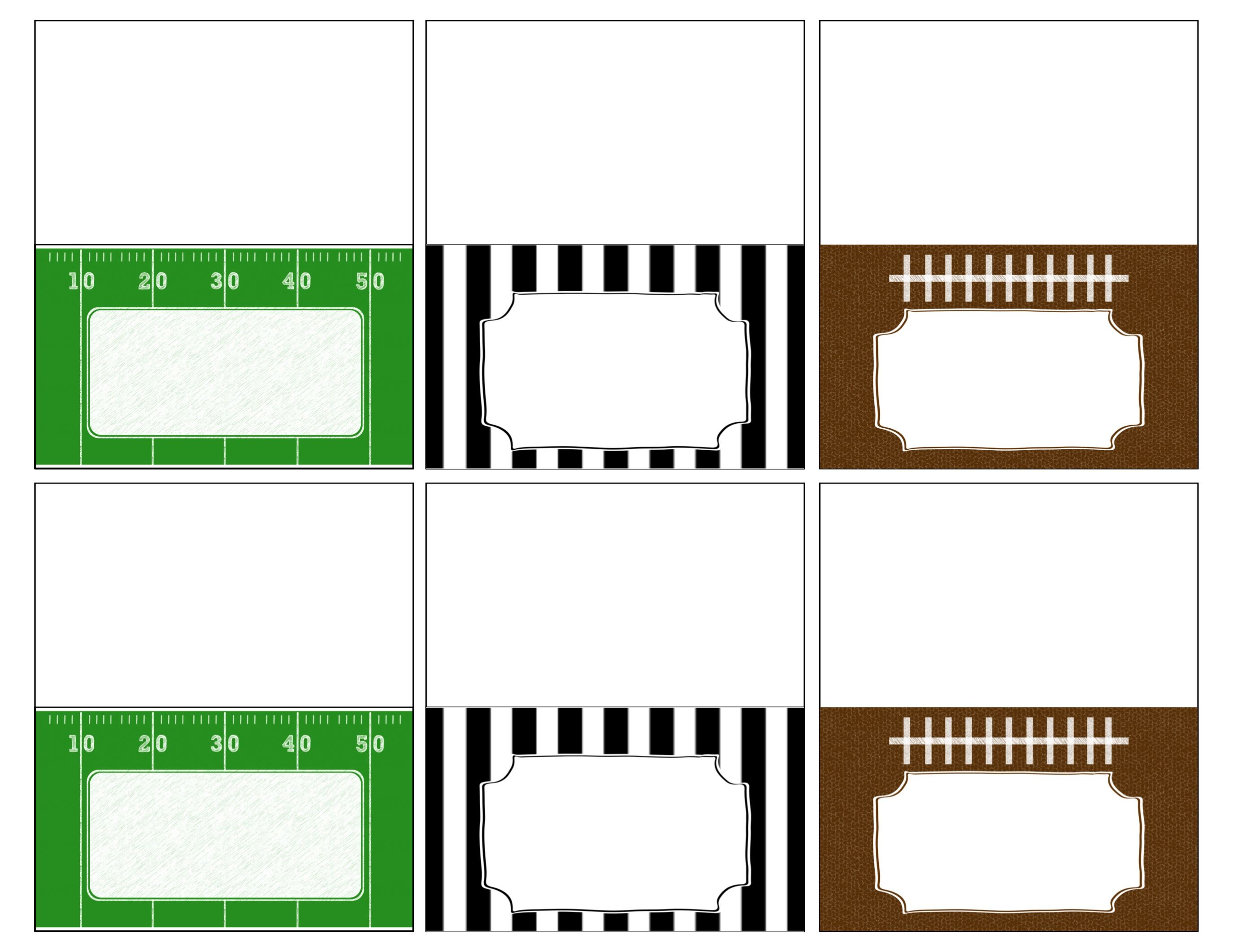 Football Field Printable | Free Download Best Football Field - Free Football Printables