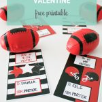 Football Valentine Cards | Holiday: Be Mine! | Valentine's Cards For   Free Printable Football Valentines Day Cards