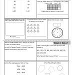 Free 3Rd Grade Daily Math Worksheets   Free Printable 4Th Grade Morning Work