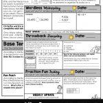 Free!} 4Th Grade Morning Work For September    Multiplication Monday   Free Printable 4Th Grade Morning Work